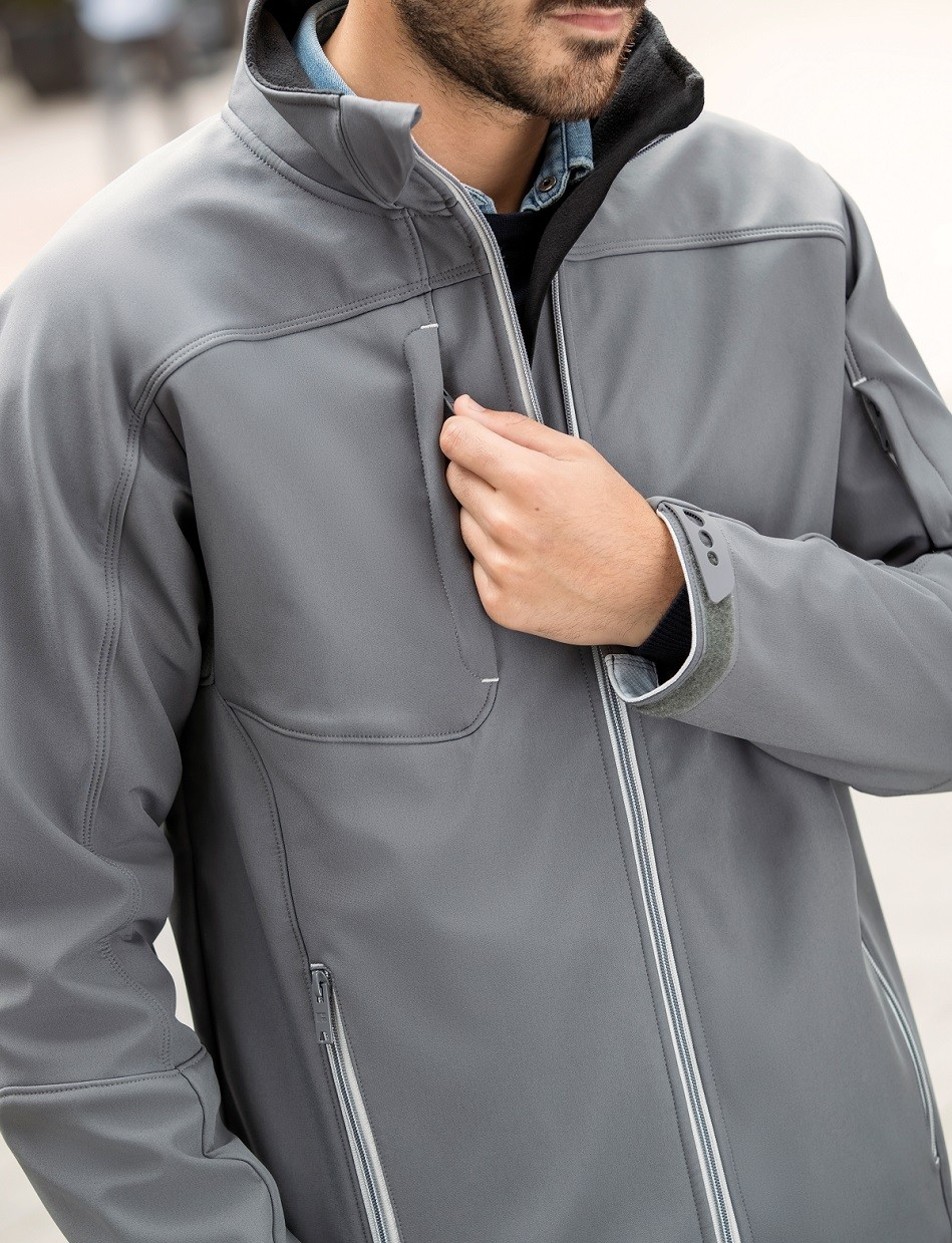 808cbea3d85 Bionic Softshell Jacket by Russell Collection (410M)