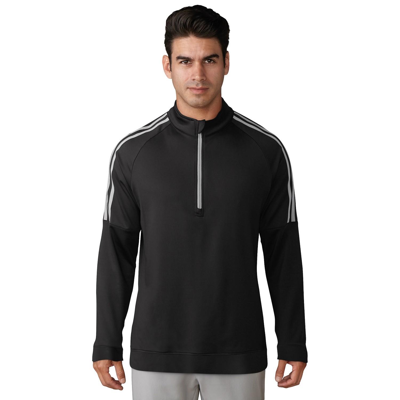 ee71c62ce414 Personalised Adidas 3-stripe Layering ¼ Zip Top (AD037)