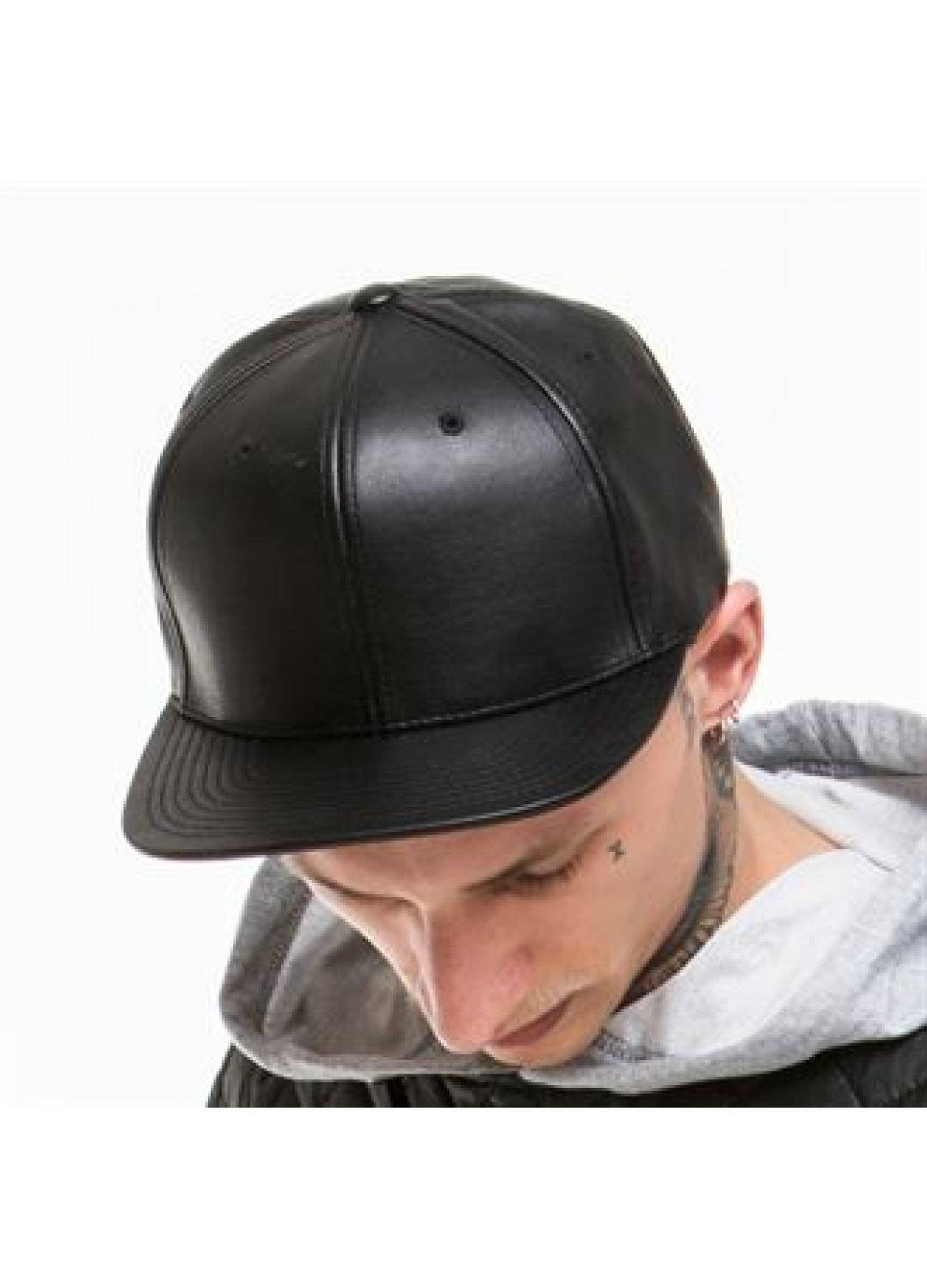 Personalised Full Leather Imitation Snapback (YP021)  8177fbecde7a